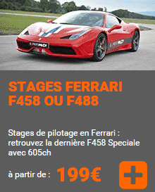 Stage Ferrari Alsace