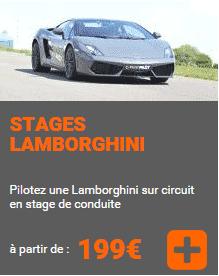 Stage Lamborghini Alsace