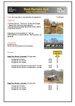 fiche seminaire entreprise 4x4 circuit geoparc