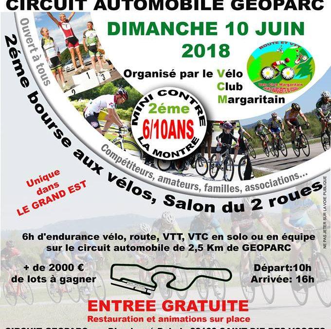 4ème Course VELO 6h du VCM 10 juin 2018