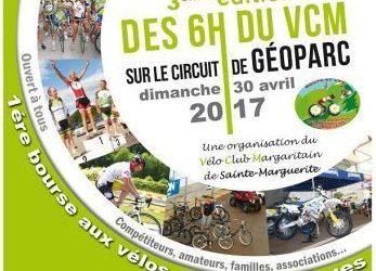 3ème Course VELO 6h du VCM 30 avril 2017