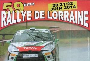 19/20 Juin 2015 Rallye de LORRAINE