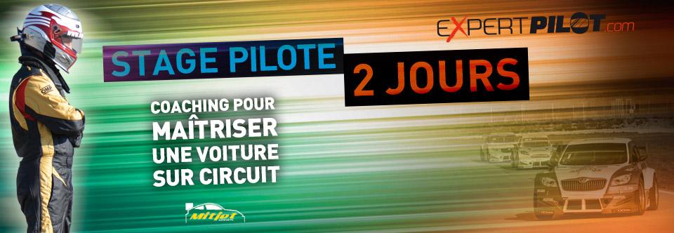 bandeau stage pilote 2 jours circuit geoparc