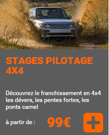 stage 4x4 tout terrain off road geoparc