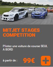 stage pilotage voiture course mitjet circuit expertpilot geoparc