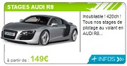 idee cadeau stage pilotage Audi R8