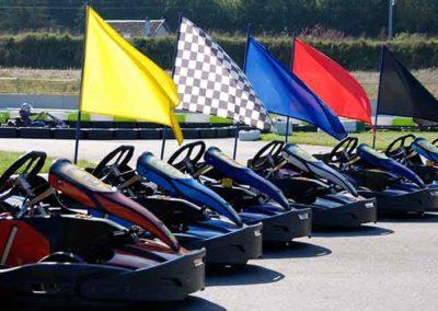 Drapeaux Karting